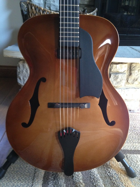 "Dan Davis 16"" Acoustic Jazz Custom Guitar"