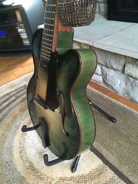 2018 Dan Davis Jazz Guitar 2