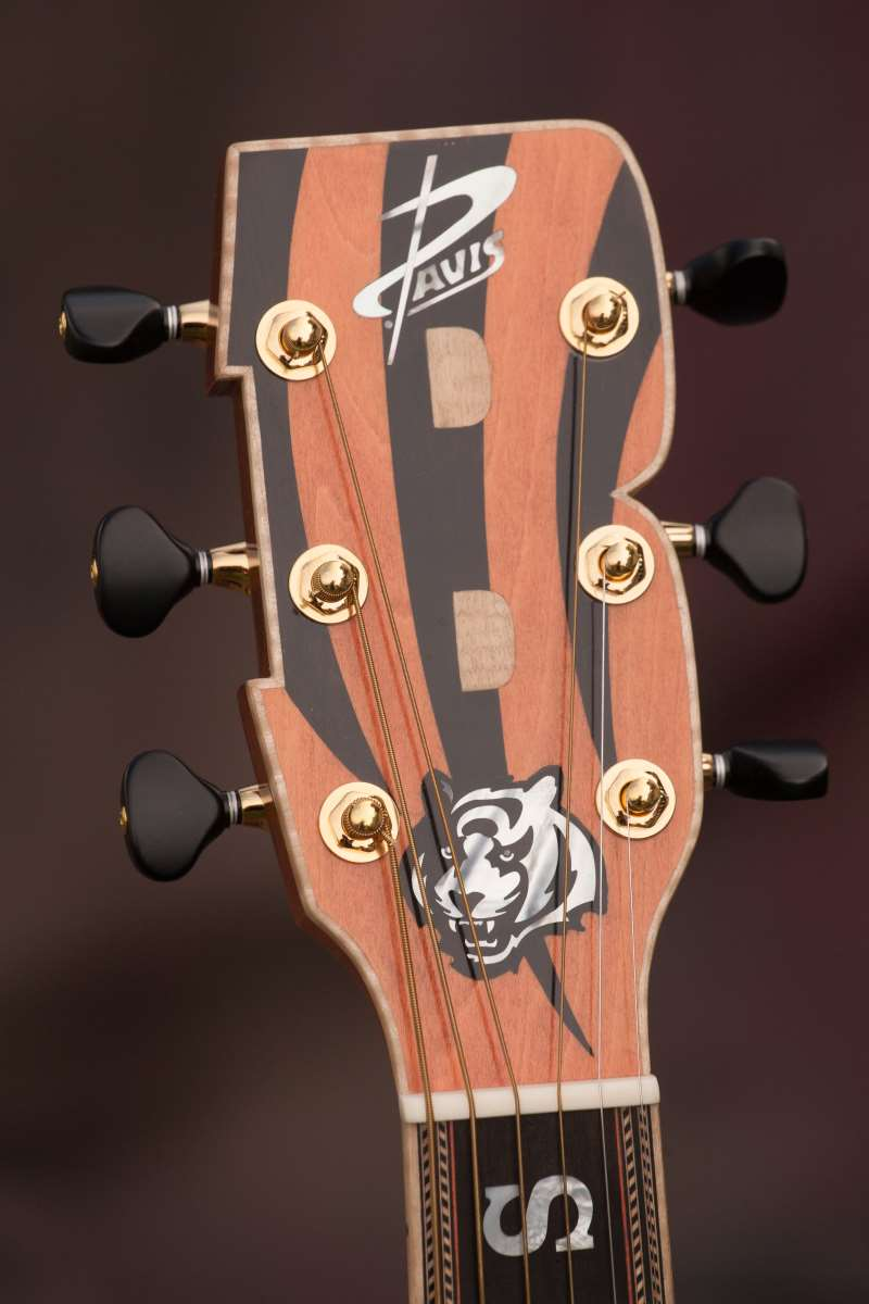 Cincinnati Bengals Custom Guitar 4