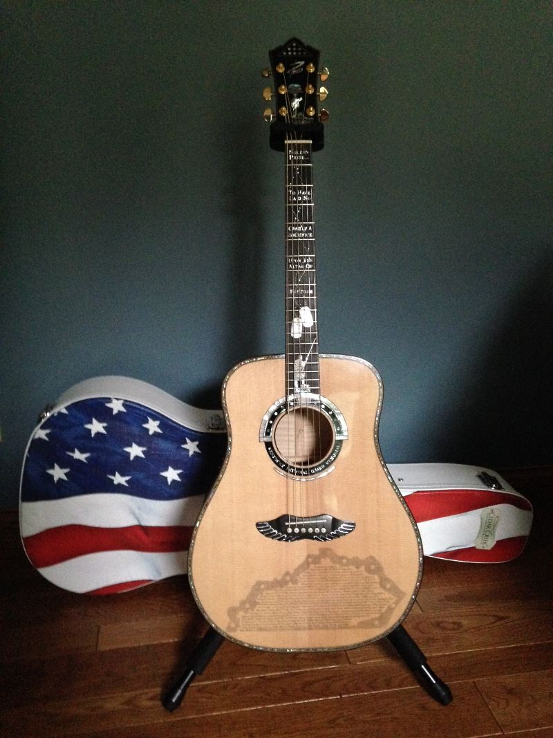 KNG Guitar with Cedar Creek American Guitar Case