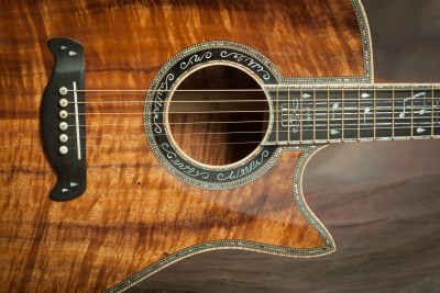 Davis Guitars - Koa 6-String Custom Guitar